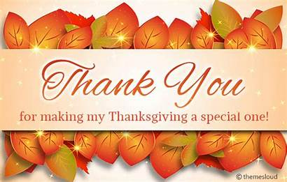 Thanksgiving Special Thank Thanks Card Greetings Ones