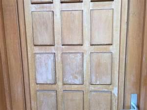 repeindre ou revernir une porte d39entree en bois With repeindre porte entree bois