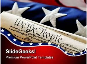 Technology Roadmap Powerpoint Template United States Constitution Government Powerpoint Templates