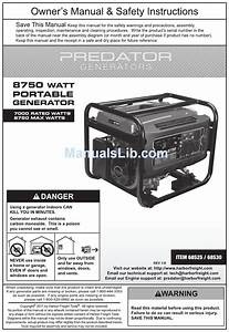 Predator 68525 Owner U0026 39 S Manual Pdf Download
