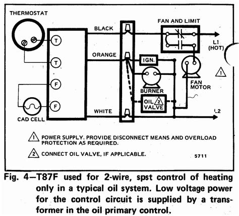 Oil Burner Control Wiring Diagram Volovets Info
