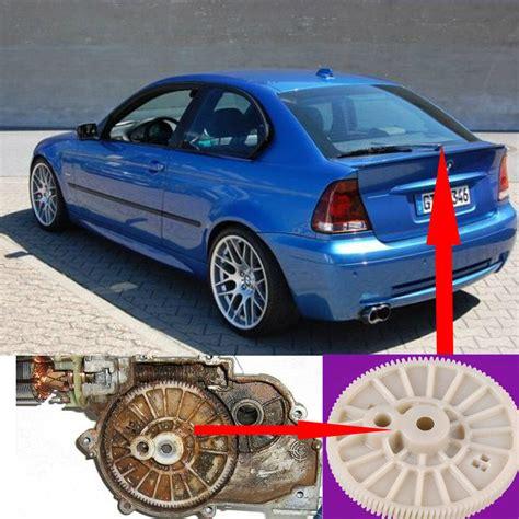 Bmw E46 Heckscheibenwischer Stange Motor Reparatur Zahnrad Ebay