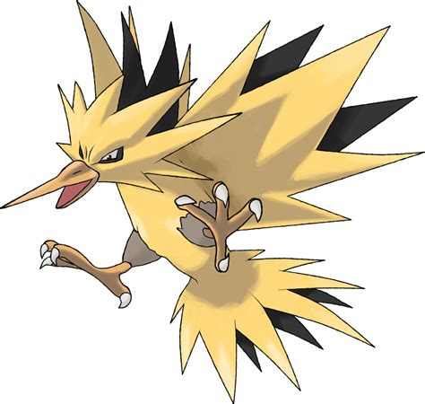 zapdos theangryaron pokemon deviantart go fan hd drawings