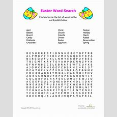 Easter Word Search  Education  Easter Worksheets, Easter Activities For Kids, Easter Activities