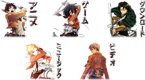 Winter 2014 2015 Anime Folder Icon Pack By Mikorin Chan Anime Folder Icon Shingeki No Kyojin Pack By Aven 23