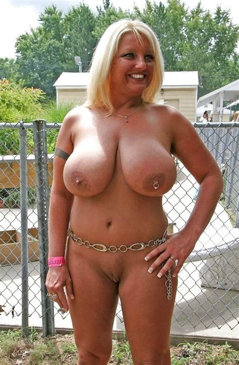 busty blonde mature via r maturemilf huge boobs