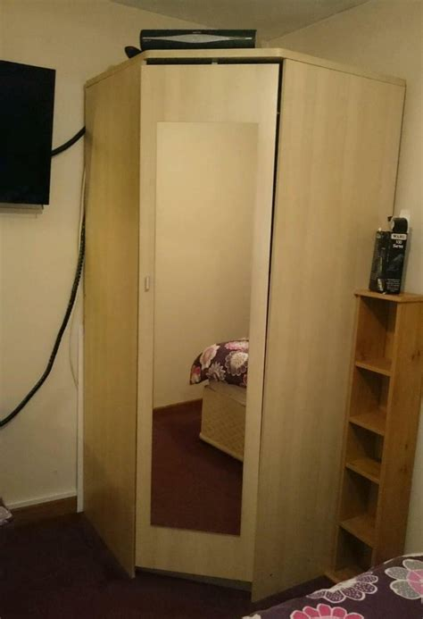 Large Wardrobes For Sale by Large Corner Wardrobe For Sale In Perranporth Cornwall