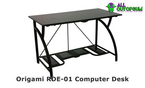 origami rde 01 computer desk origami computer desk origami foldable computer desk