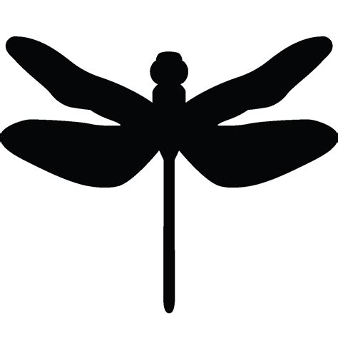 fly chambre bébé stickers muraux animaux sticker silhouette libellule