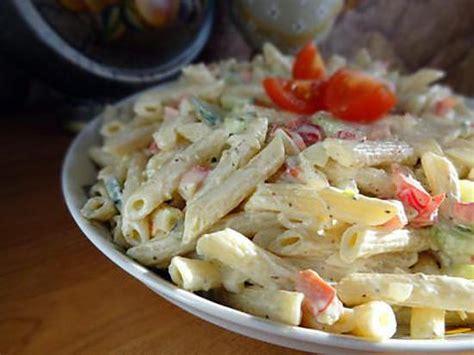 recette de salade de pates froide au poulet recette de salade de p 226 tes d 233 licieuse