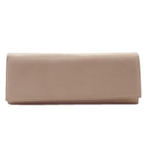 Peter Kaiser UK  Winifred Sand Suede Leather Clutch