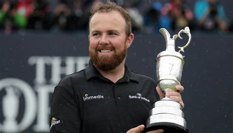 golf shane lowry wins  open  claim  major newshub