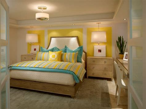 yellow and blue bedroom 15 gorgeous grey turquoise and yellow bedroom designs 17894 | 1 Beachside Remodel