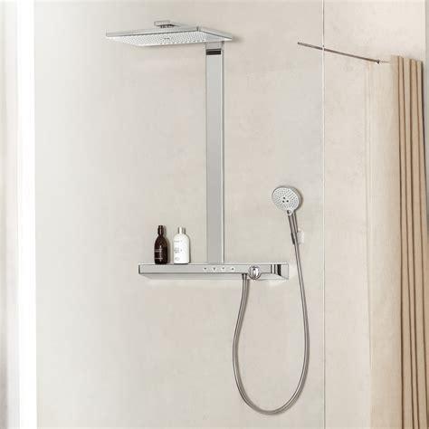 hansgrohe rainmaker select hansgrohe rainmaker select 460 3jet showerpipe 27106400