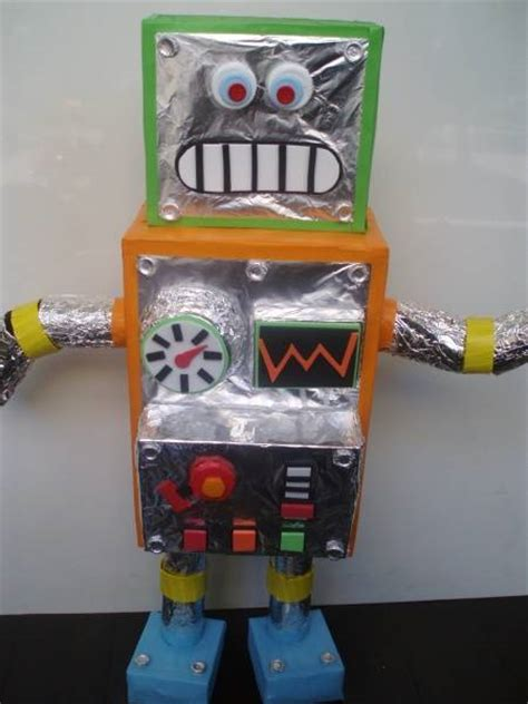 Recycled Robot Project Ideas