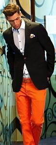 Menu0026#39;s Orange Style Inspiration | Famous Outfits