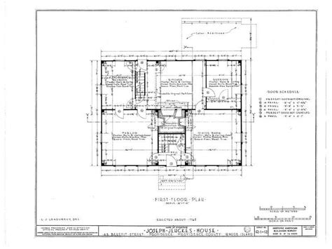 gambrel roofed colonial  england house plans wood