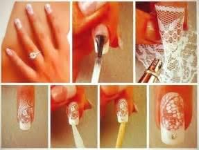 Lace nail design diy alldaychic