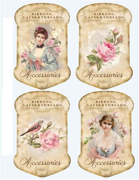 cartonnettes decoupage vintage cartes retro