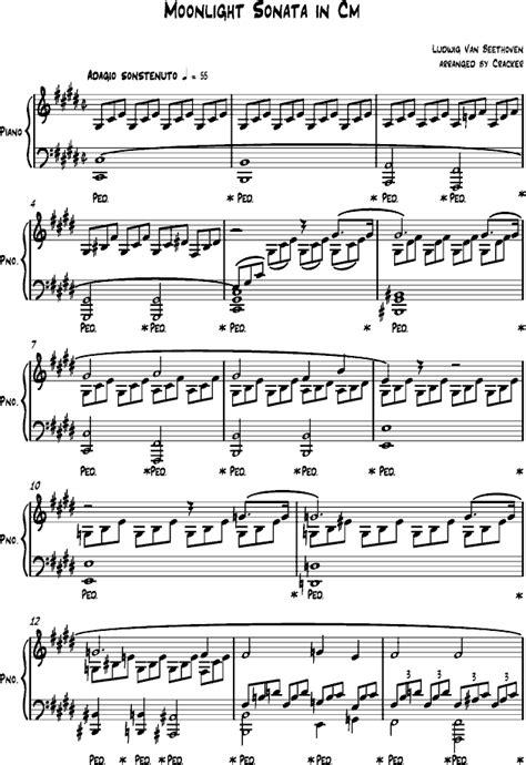 Moon Light Sonata by Moonlight Sonata Sheet