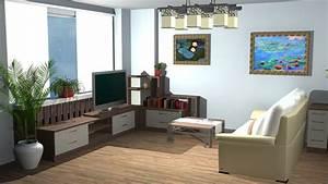 Milena miteva page for Interior design living room in 3ds max