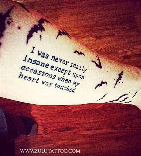 O'rourke, trevor noah or an motivational. Script and bats tattoo by Pinky Rae at Zulu Tattoo Austin ...
