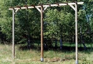 Sonnensegel Pfosten Holz : pergola g nstig vom gartendiscounter garten k nig ~ Michelbontemps.com Haus und Dekorationen