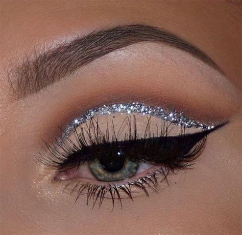 pin  tru   connye  eyebrows tutorial glitter eye makeup eye makeup cruelty