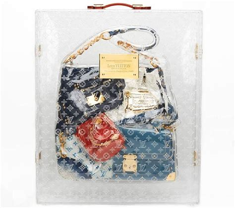 louis vuitton tribute collectors patchwork bag  case  stdibs