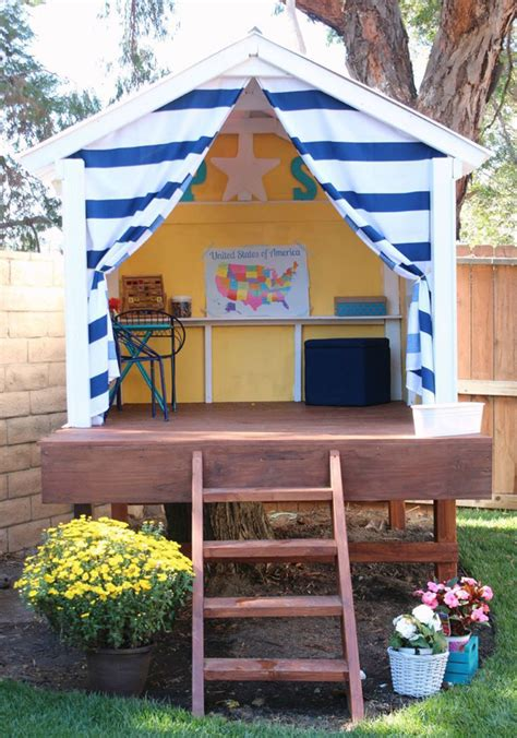 outdoor playhouses  kids