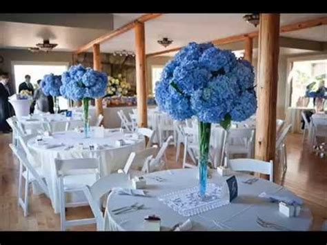 diy wedding decorations blue diy blue wedding table decoration ideas youtube