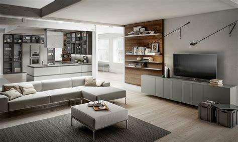 cucina  vista scegli mobili uguali anche  il soggiorno casafacile