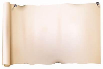 Scroll Paper Clipart Scrolls Sheet Transparent Yopriceville