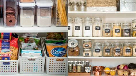 ideas  organizar tu despensa  pantry organization