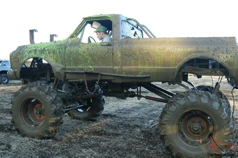 monster truck mud racing 1969 4 x 4 chevy monster racing mud truck