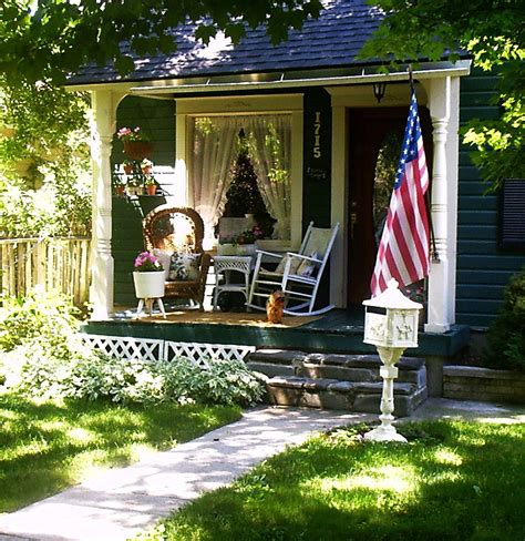 Cottage Porch by Ash Tree Cottage Dreaming Of On The Porch