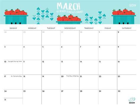 foodie printable calendar  moms