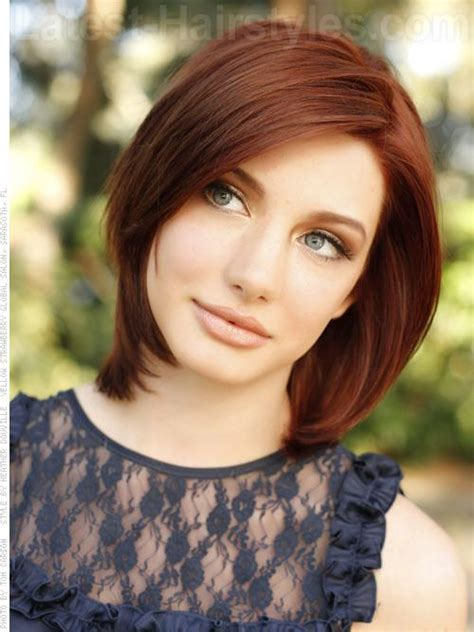Auburn And Hairstyles by Gorgeous Medium Length Hairstyles For Winter 2013