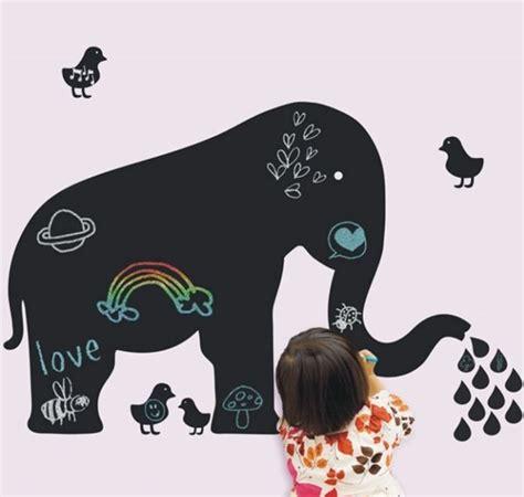 muursticker babykamer olifant muursticker krijtbord olifant muurstickers babykamer