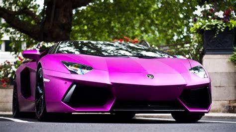 Purple Lamborghini Aventador Hd Wallpaper  Download Hd
