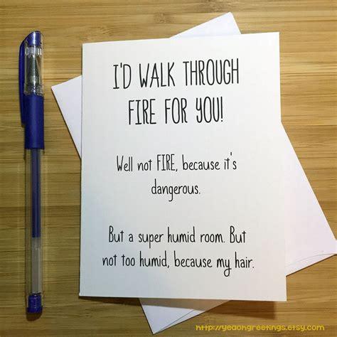 funny friendship card  friend card cute love