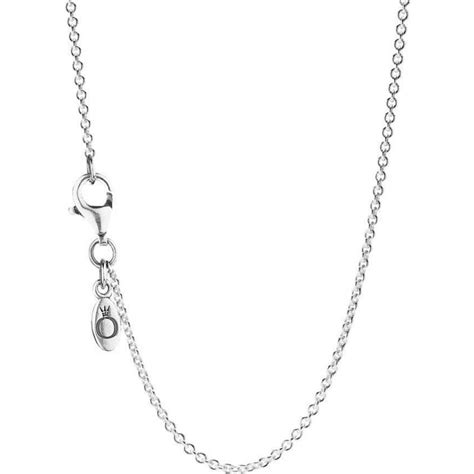 pandora silver collier necklace cm  gift  wrap uk