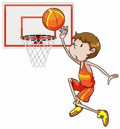 Basketball Shooting Hoop Vector Basket Lay Clipart