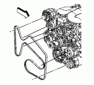 4 8 Chevy Engine Belt Diagram by I Need A Serpentine Belt Diagram For 2008 Uplander 3900