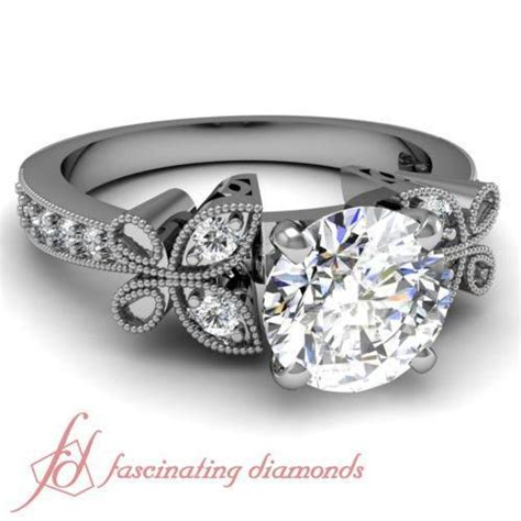 Butterfly Engagement Ring  Ebay