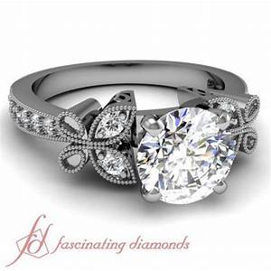 butterfly engagement ring ebay With butterfly wedding rings