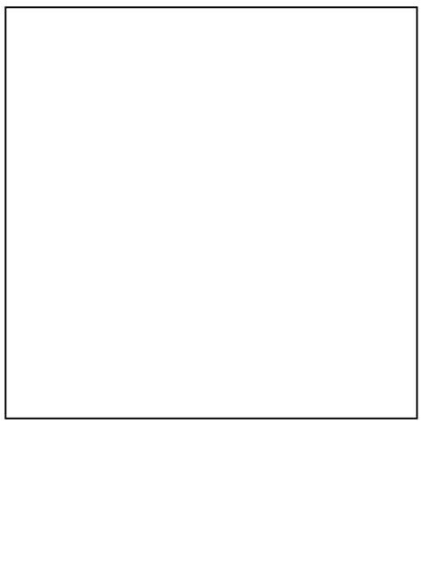 Vierkant Kleurplaat by N Kleurplaat Vormen Vierkant