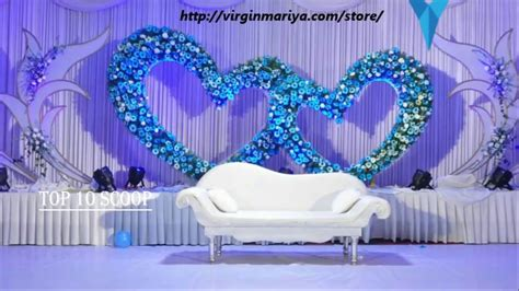 top  wedding stage decoration ideas youtube