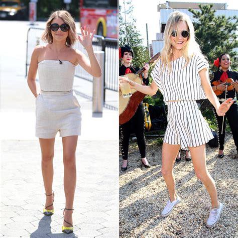Total look Cu00f3mo llevar un u0026#39;crop topu0026#39; coordinado con falda o pantalu00f3n