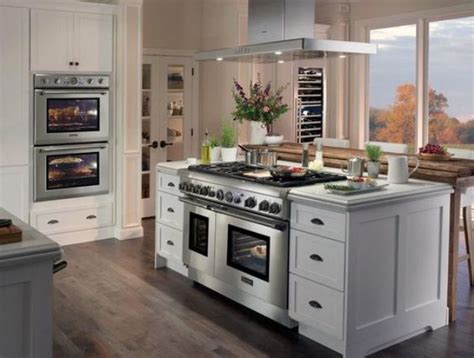 kitchen island with oven 31 smart kitchen islands with built in appliances digsdigs